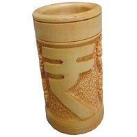 Parvidvap Handicrafts Wooden Rupees Pen Stand