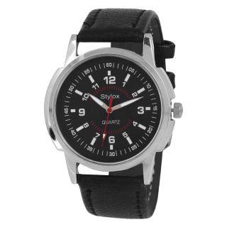Stylox WH-STX120 Black Dial (STX120) Analog Watch - For Men