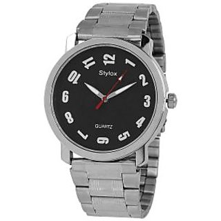 Stylox WH-STX210 Black Dial Chain (STX210) Analog Watch - For Men