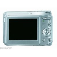 GE A1250-BK 12MP Digital Camera With 5X Optical Zoom And 2.5 Inch LCD - Silver