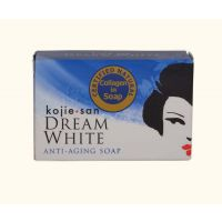 3 Pc Kojie San Dream White Soap With Collagen  For Anti-aging,dark Spots