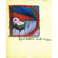 Vignette 'D' By Franz Marc - Canvas Art Print