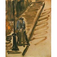 Rue Mossnier With Knife Grinder By Edouard_Manet - Fine Art Print