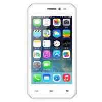 Intex Aqua 3G+ Smart Mobile Phone - (White)