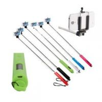 Selfie Stick With 3.5 MM Aux Cable Monopod(NO NEED OF BLUETOOTH )