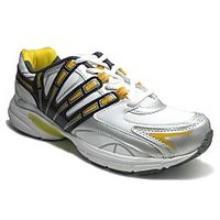 Fast Trax Yellow And White Mens Sports Shoes (P114-YW)