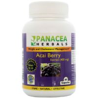 Acai Berry Extract 400 Mg Capsules
