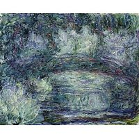 Pont Japonais Japanilainen Silta By Monet - Canvas Art Print