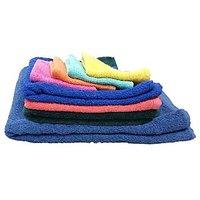 Carah Premium Cotton Bath, Hand & Face Towel Set Of 8