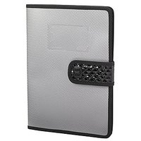 Trio C650 Conference File With Pad & Envelope Pocket A4 (Set Of 2, Grey)