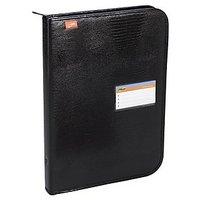 Trio UBF610 Urban Leatherlite Folio 10 Pockets FC (Set Of 1, Black)