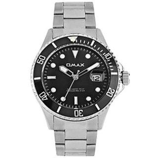 Omax Analog Black Dial Men's Watch - 74618608