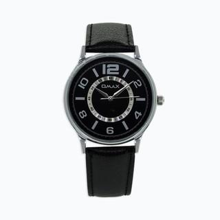 Omax Analog Black Dial Men's Watch - 74618570