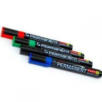 Camlin Permanent Permanent Markers (Set Of 10, Black)