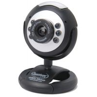 Quantum Web Cam 25MP 495LM  6 LED Lights Night Vision In Built Mic For Computers
