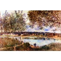 The Path To The Old Ferry, 1880 By Sisley - Fine Art Print