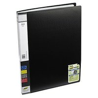 Trio 603A Display File 30 Pockets A4 (Set Of 2, Black)