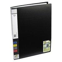 Trio 603A Display File 30 Pockets A4 (Set Of 2, Black)