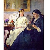 Mother And Sister Of The Artist By Morisot - Fine Art Print