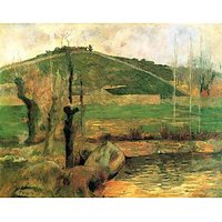 Sainte Marguerite Near Pont-Avon By Gauguin - Canvas Art Print
