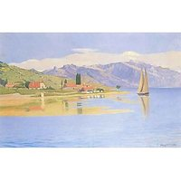 The Port Of Pully By Felix Vallotton - Fine Art Print