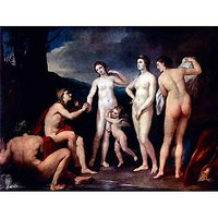 The Verdict Of The Paris By Raphael - Fine Art Print