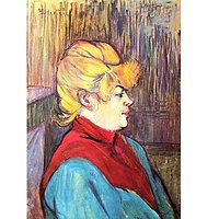 Inhabitant Of The House Of Joys By Toulouse-Lautrec - Fine Art Print