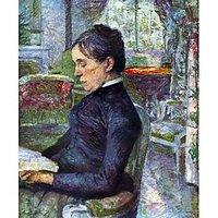 Portrait Of The Countess By Toulouse-Lautrec - Fine Art Print