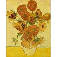 Still Life With Sunflowers By Van Gogh - Fine Art Print