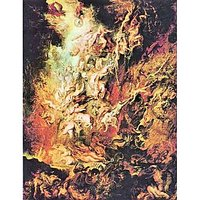Hell Overthrow Of The Damned By Rubens - Fine Art Print
