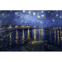 Starry Night Over The Rhone By Van Gogh - Fine Art Print