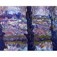 View Of Arles By Van Gogh - Fine Art Print