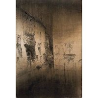 Nocturne In Grey And Gold By Whistler - Museum Canvas Print