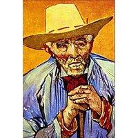 The Peasant By Van Gogh - Fine Art Print