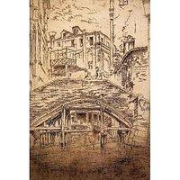 Ponte Del Piovan By Whistler - Fine Art Print