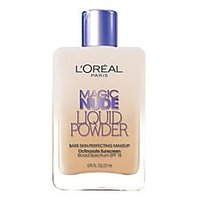 Magic Nude Liquid Powder Bare Skin Perfecting Makeup SPF 18 Natural Beige