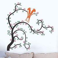 Tree With Love Birds 6988