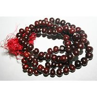 Sandalwood Mala, Red Sandalwood Rosary, Japa Mala, 108+1 Beads - 74804838