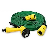 Water Spray Gun 10 Meter Flat Hose For Garden Pet Car Washing Jet Spray Gun - 74808666
