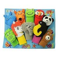 Wild Animals Finger Puppets (Set Of 10)