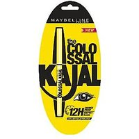 Maybeline The Colossal Kajal 0.35 G Black (Pack Of 2) - 74833984