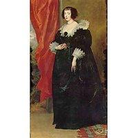 Portrait Of Margaret Von Lothringen By Van Dyck - Fine Art Print