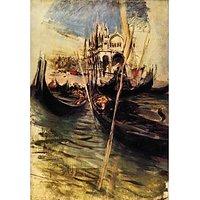 San Marco In Venice By Giovanni Boldini - Canvas Art Print