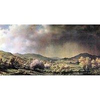 Spring Rain, The Valley Of Connecticut By Martin Johnson Heade - Fine Art Print