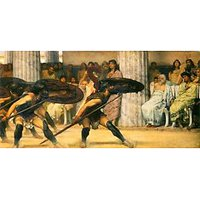 A Dance For Phyrrus By Alma-Tadema - Fine Art Print