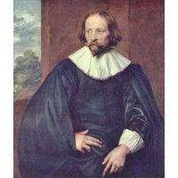 Portrait Of Quintijn Simons By Van Dyck - Fine Art Print