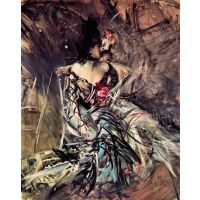 The Spaniard From 'Moulin Rouge' By Giovanni Boldini - Fine Art Print