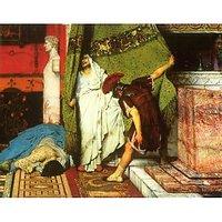 A Roman Conqueror, Detail [2] By Alma-Tadema - Canvas Art Print