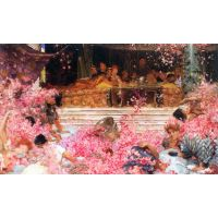 The Roses Of Heliogabalus By Alma-Tadema - Fine Art Print