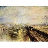 The Great Western Railway By Joseph Mallord Turner - Museum Canvas Print